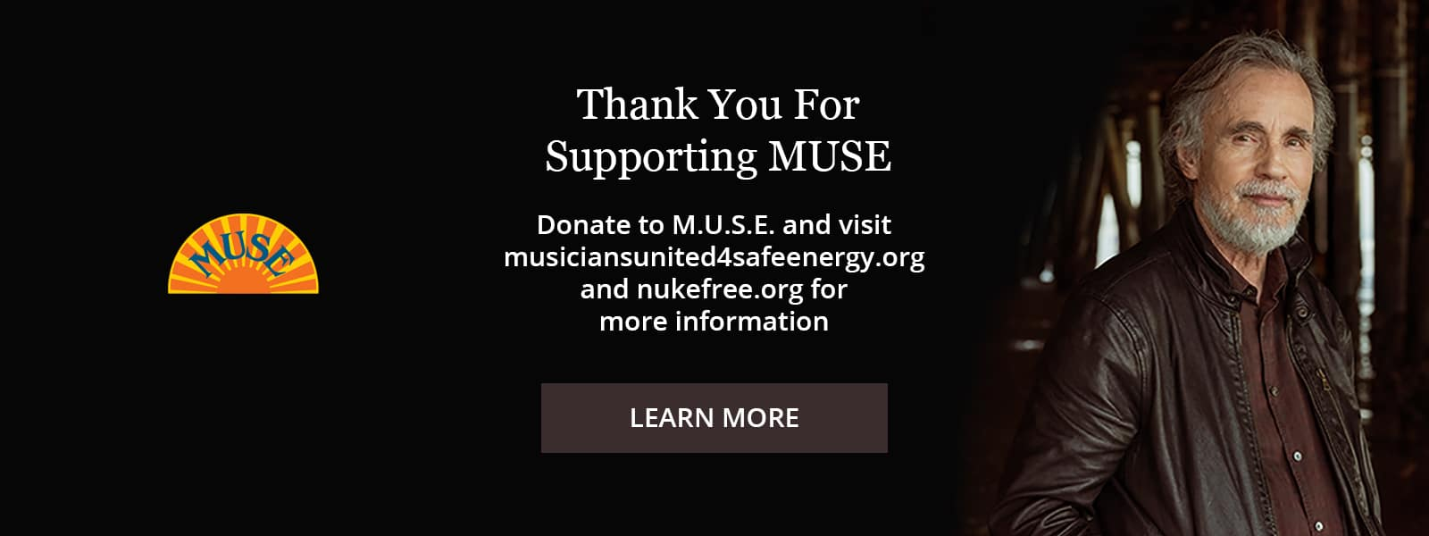Thank you for supporting MUSE Learn More